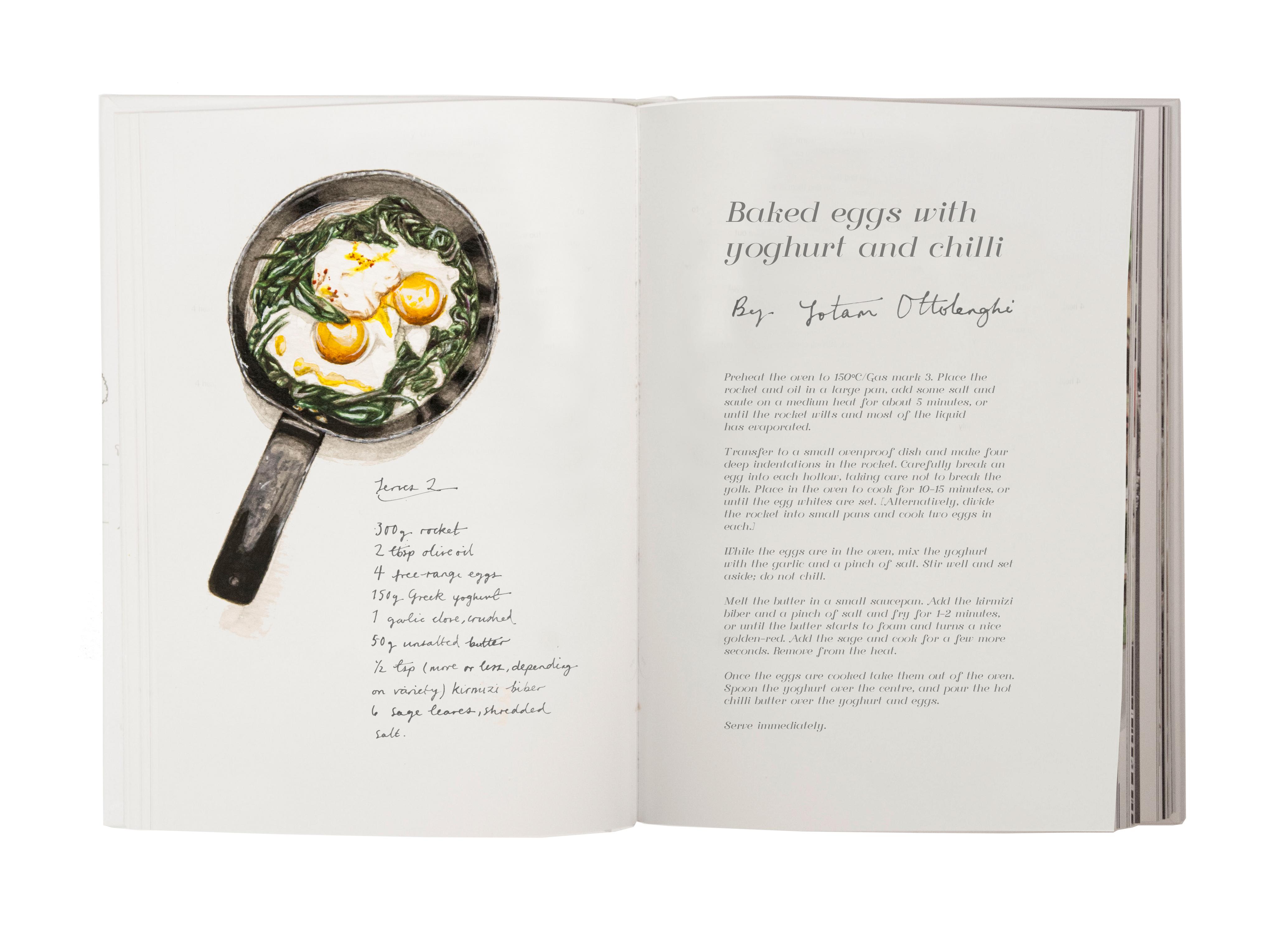 food recipe books lucy illustrates